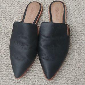 Madewell Gemma black mules